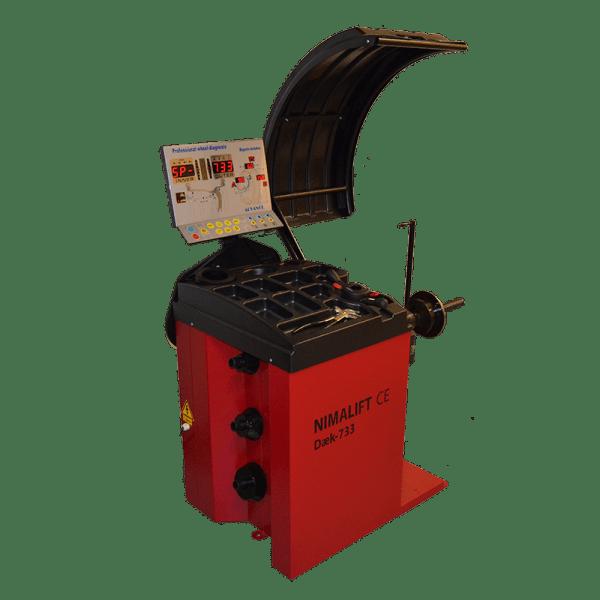 Manual - Afbalanceringsmaskine NimaDæk 733