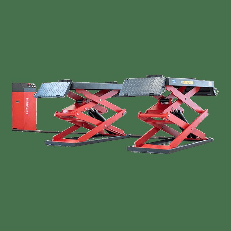 Manual - Deluxe saxlift til gulvmontering - 3000kg