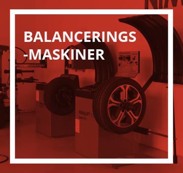 Afbalanceringsmaskiner
